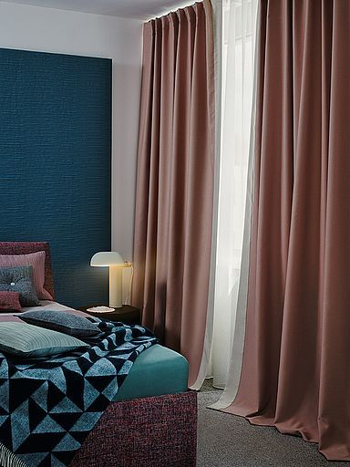 The Modern Blackout Fabric Sono Dimout Has A High Fabric Density