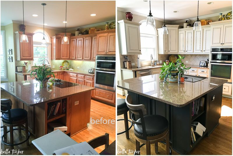 painted cabinets nashville tn before and after photos kitchen cabinets before after painting on kitchen cabinets painted before and after id=73974
