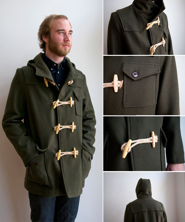 Olive green duffle coat - next winter's go-to coat | Hit List ...