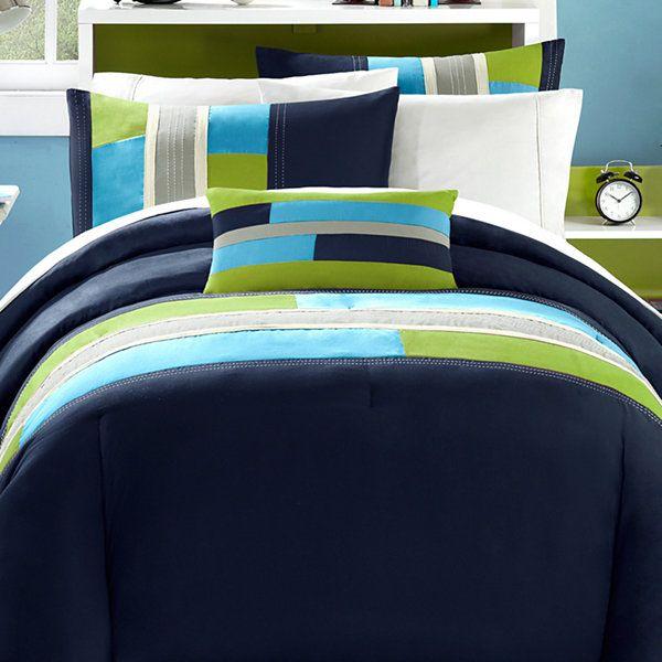Mizone Switch Colorblock Comforter Set Jcpenney Comforter Sets Bedding Sets Comforters