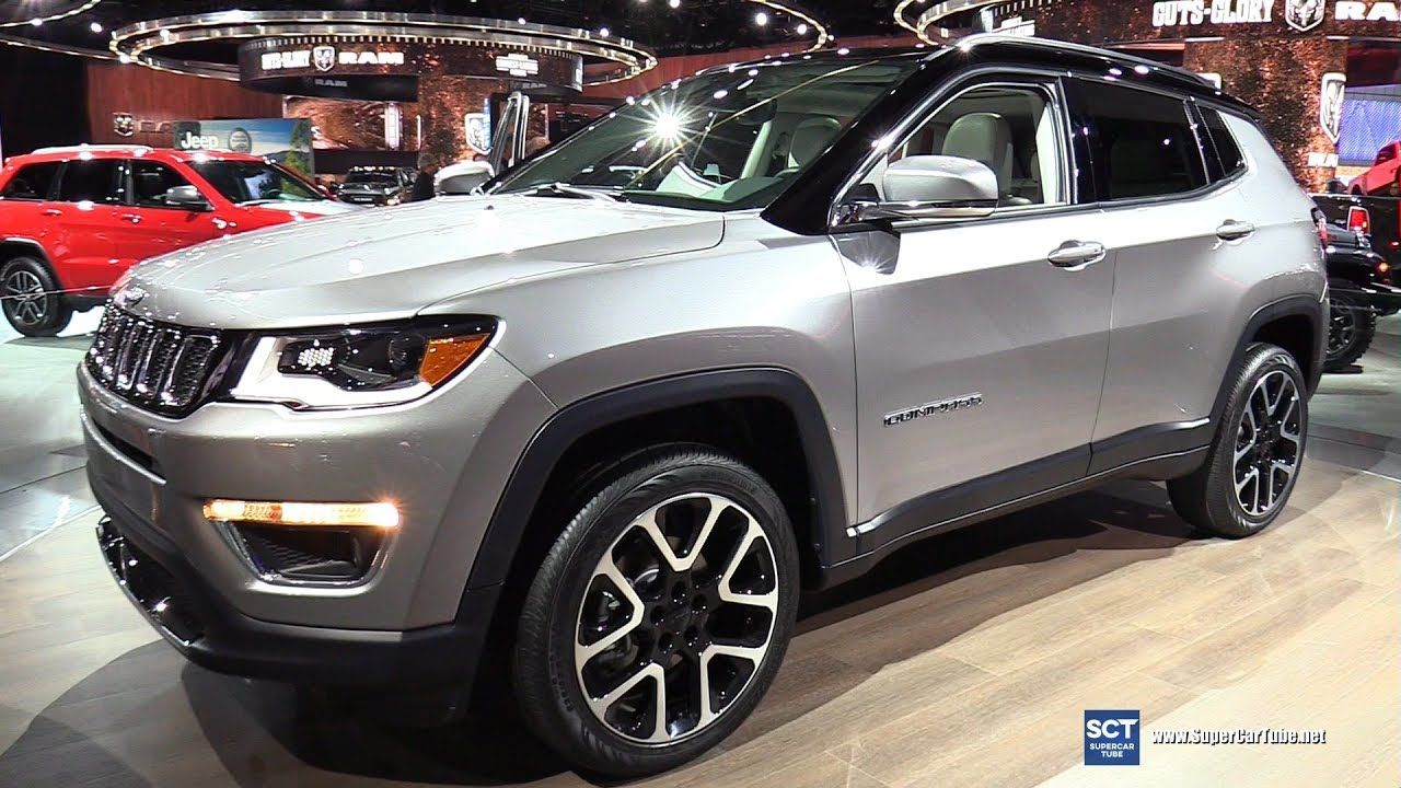 2018 Jeep Compass Limited Exterior Walkaround 2017