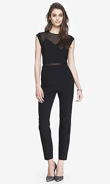 f9a12ece89e LAYERED MESH TOP JUMPSUIT