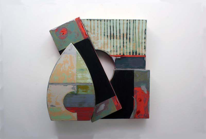 Richard Taylor - Sculpture : Main/PaintedWallSculpture21