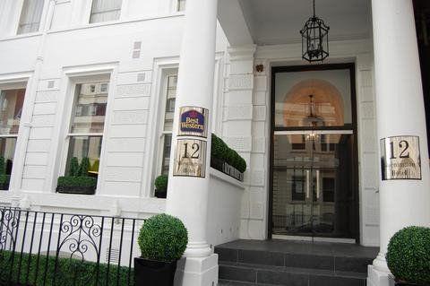 Best Western Mornington Hotel 12 Lancaster Gate London W2 3lg