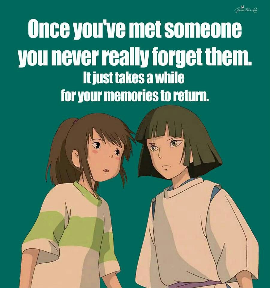 Spirited Away Quotes Spirited Away I Watched It For The Second Time And I Love It Now .