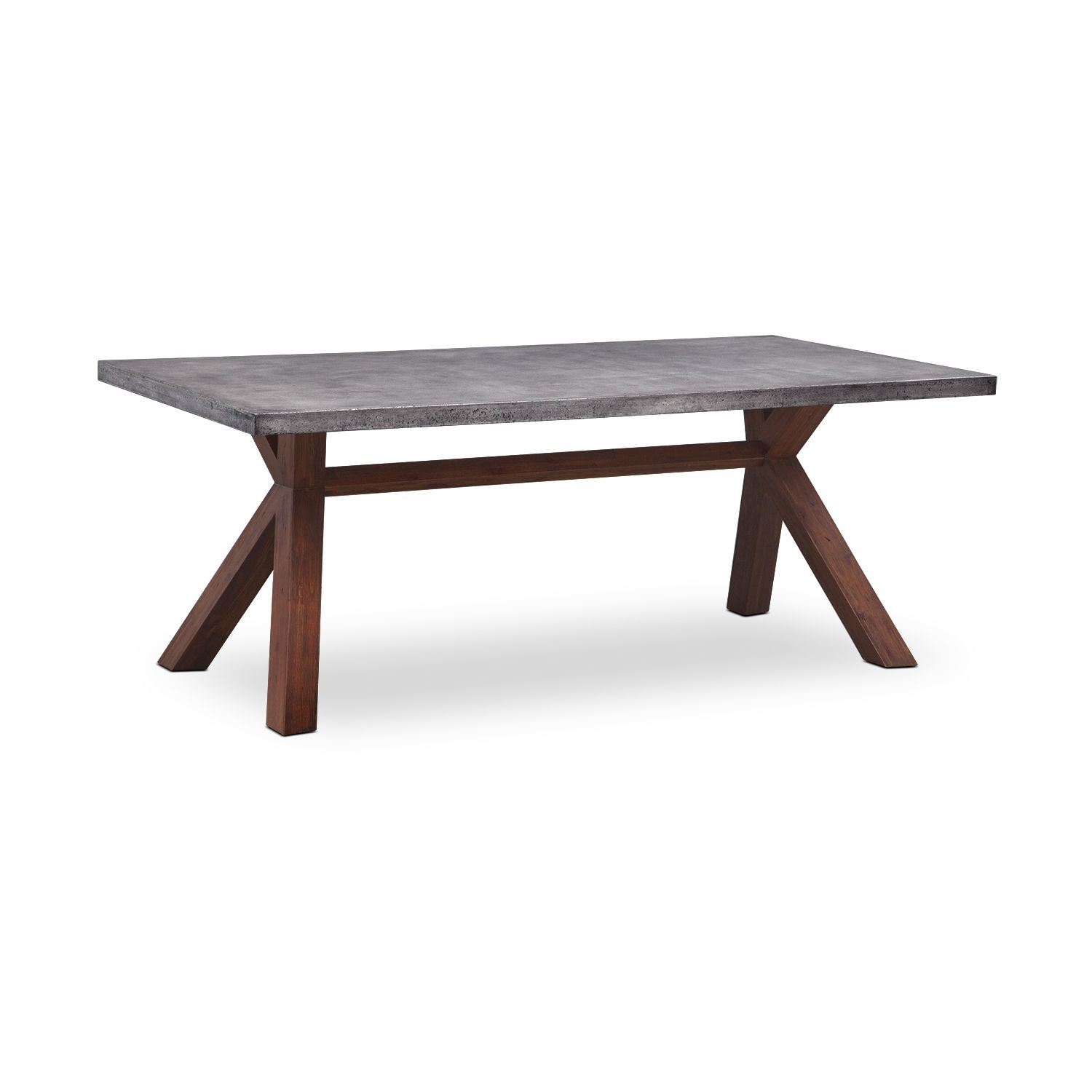 The Combination Of Contemporary Materials In Driscoll Dining Table Creates A Modern
