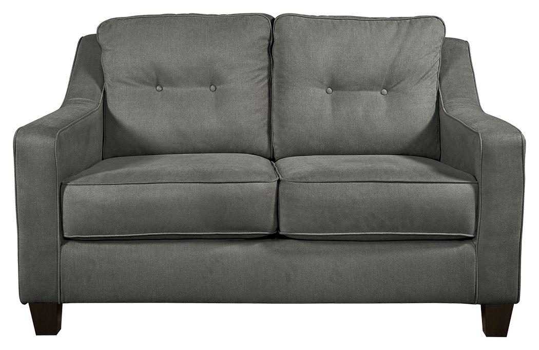 Karis Loveseat Slate Sofa Furniture Love Seat Furniture