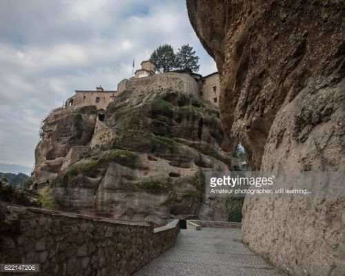 04-26 The Monastery of St. Nicholas Anapausas, built in the 16th... #kalampaka: 04-26 The Monastery of St. Nicholas Anapausas,… #kalampaka