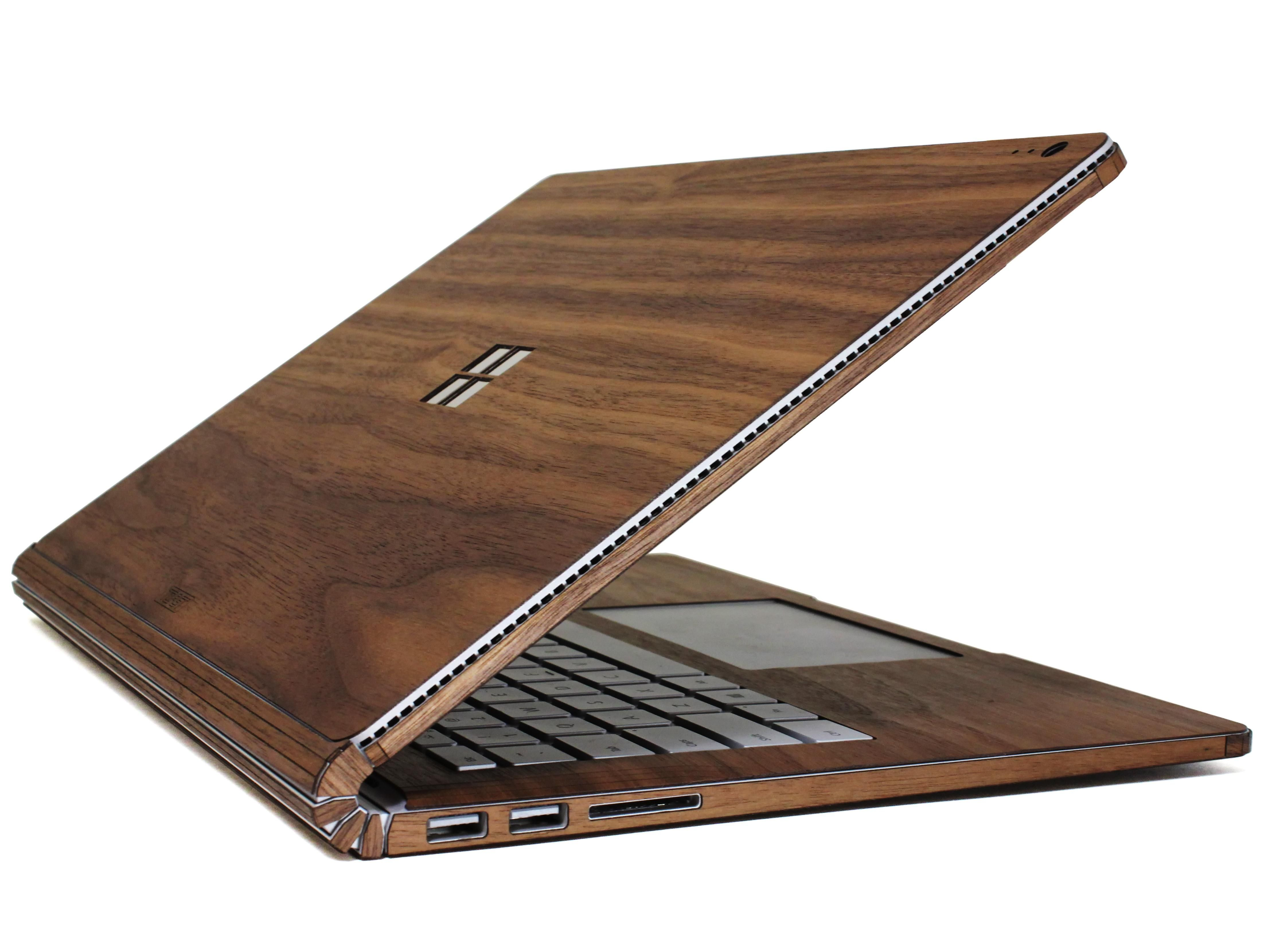 toast real wood microsoft surface book cover w i s h l i s t