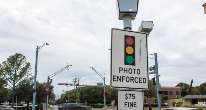 Many Amarillo Drivers Have Gotten A Pricey Red Light Camera Ticket It Will Cost You 75 Each Time You Run One Of Eight Red Li Red Light Camera Light Red Light