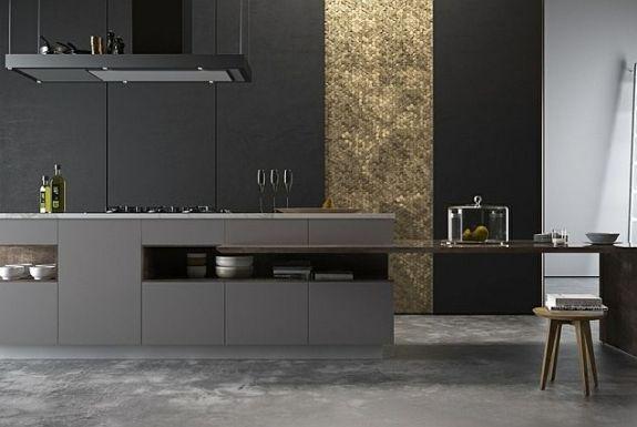 nice Idée relooking cuisine - Modèle de cuisine noire : 35 espaces ...
