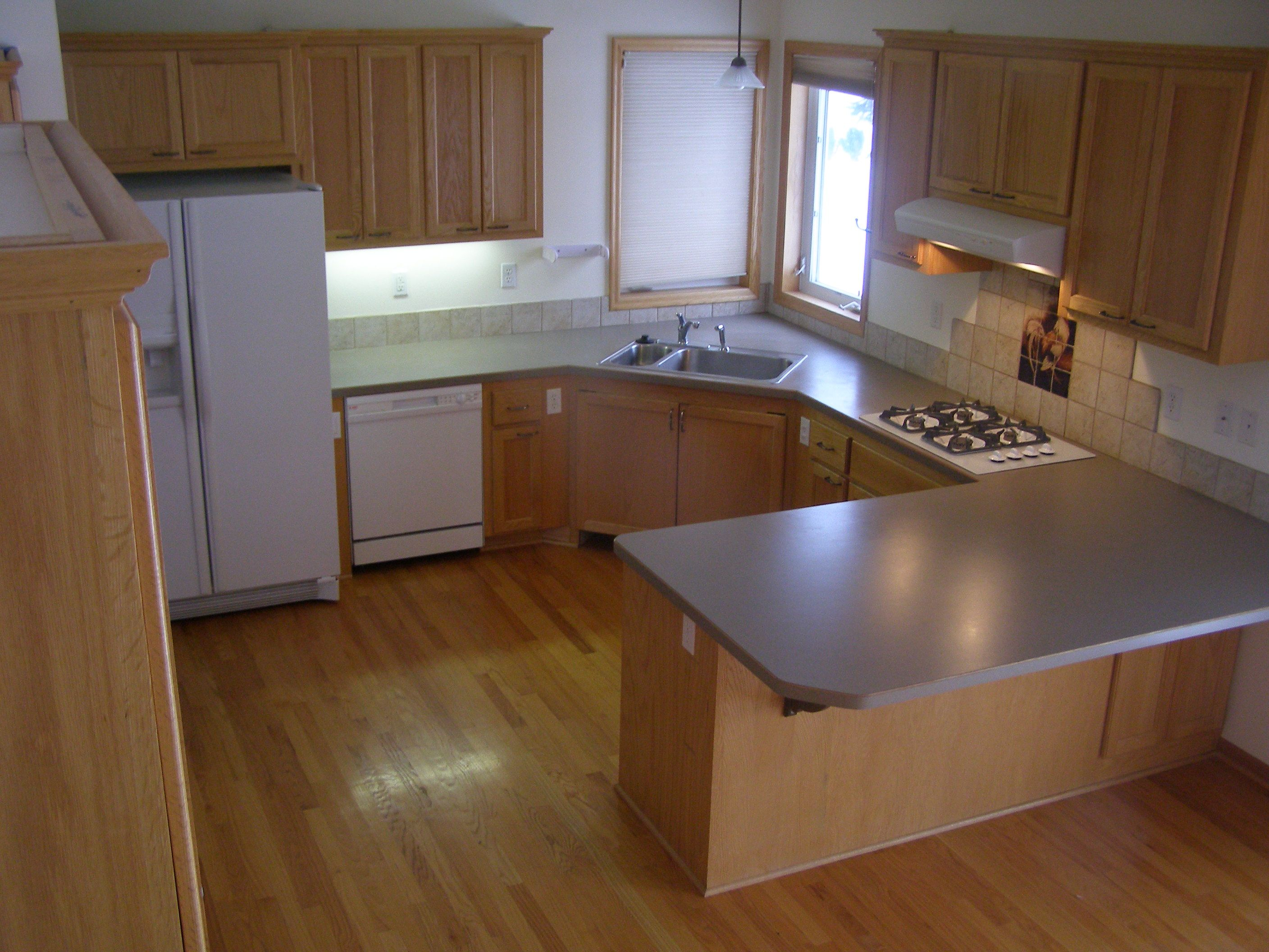 Universal Design Kitchen Cabinets Universal Design Kitchen With Large Overhang 34 Quot High