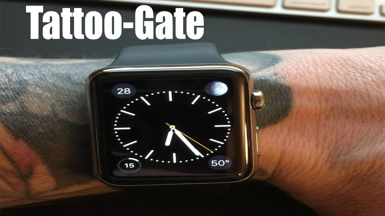 TattooGate Tattoos stop Apple Watch from working Apple