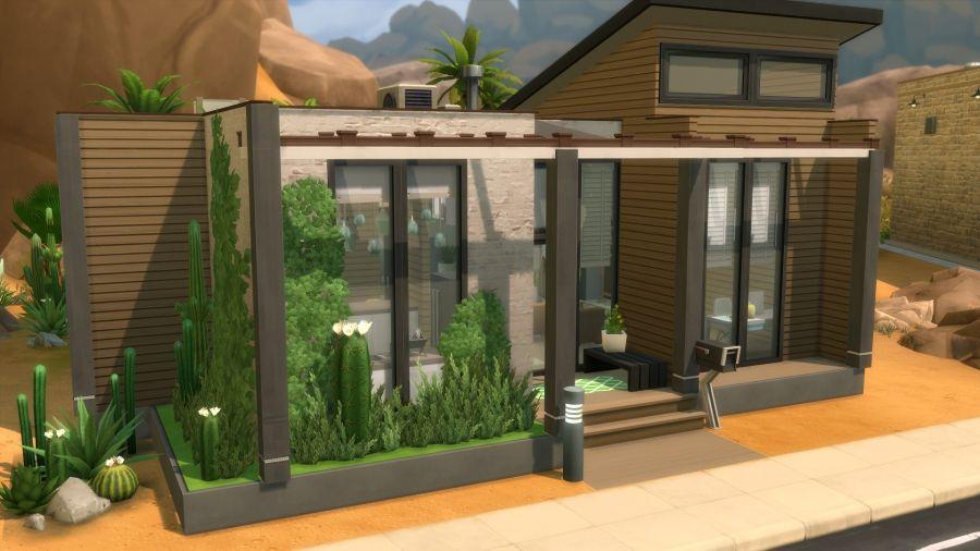 Vue D Ensemble 1 Maison Sims Sims 4 Maison Sims