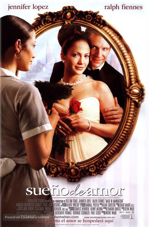 ''Maid in Manhattan - sueno de amor'' 2002 Mexican movie poster. (muy pronto el amor se hospedara qui). (7).