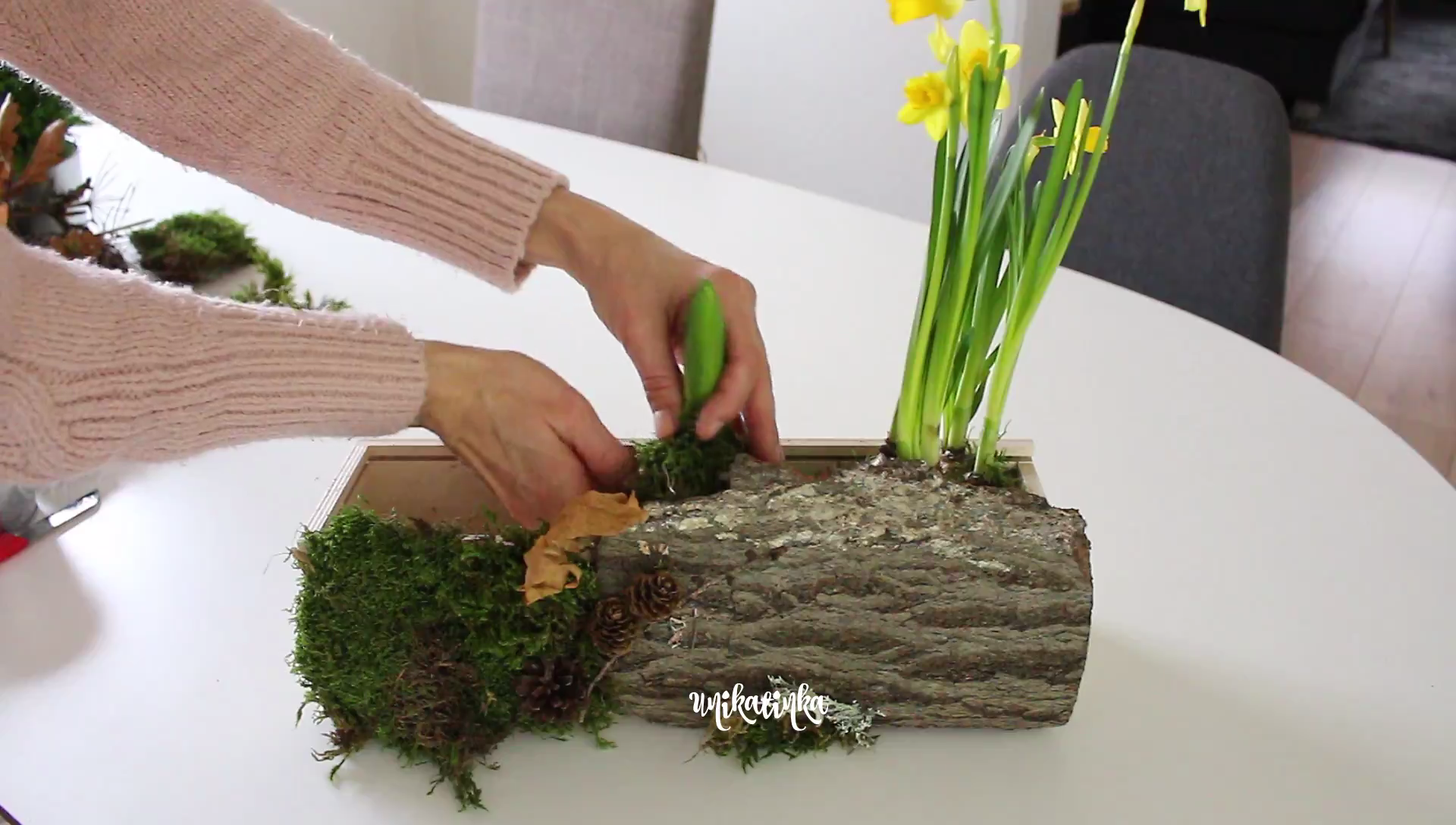 Photo of DIY spring decoration, spring decor upcycling, recycling