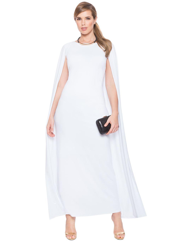 891b2ebc398 Studio Jersey Capelet Gown