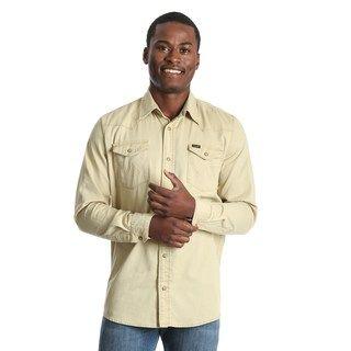 6a63da8b Big & Tall Croft & Barrow® Regular-Fit Denim &Twill Utility Button-Down  Shirt | null