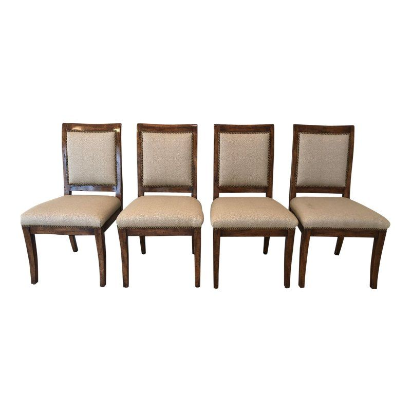 Bausman Company Bench Made Side Chairs Set Of 4 Chair Side