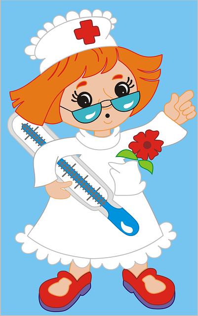 De Niños Y Salud Imagenes De Enfermeras Animadas Auxiliar