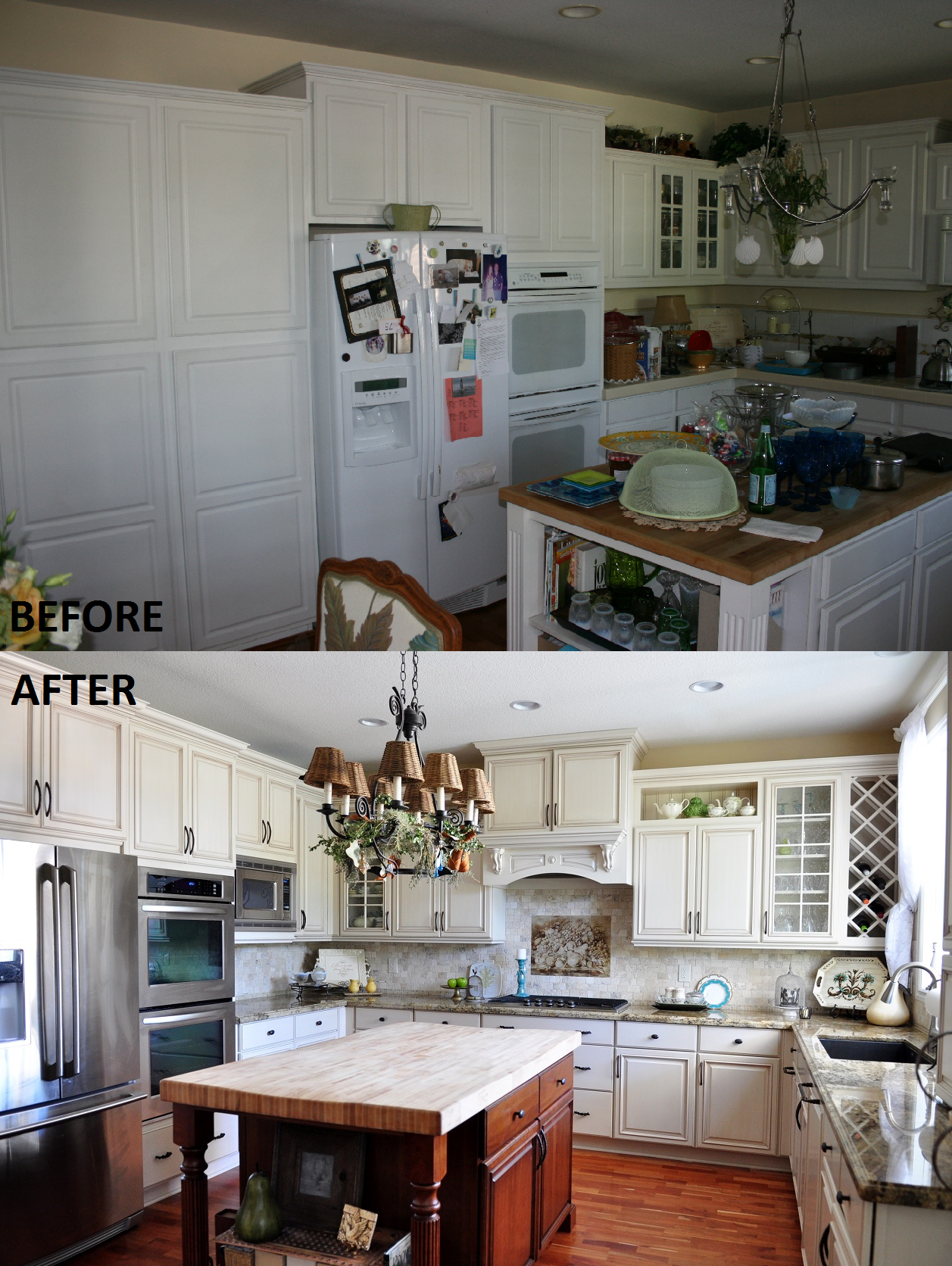 Kitchen Remodel done by Kitchens Etc of Ventura County Cabinetry