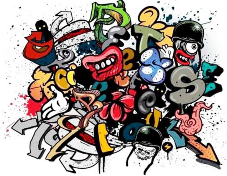 Menakjubkan 17 Gambar Kartun Keren Terbaru Di 2020 Graffiti Graffiti Art Mural
