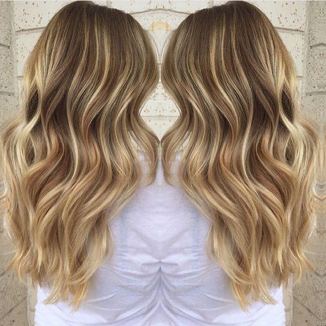 Sandy golden blonde