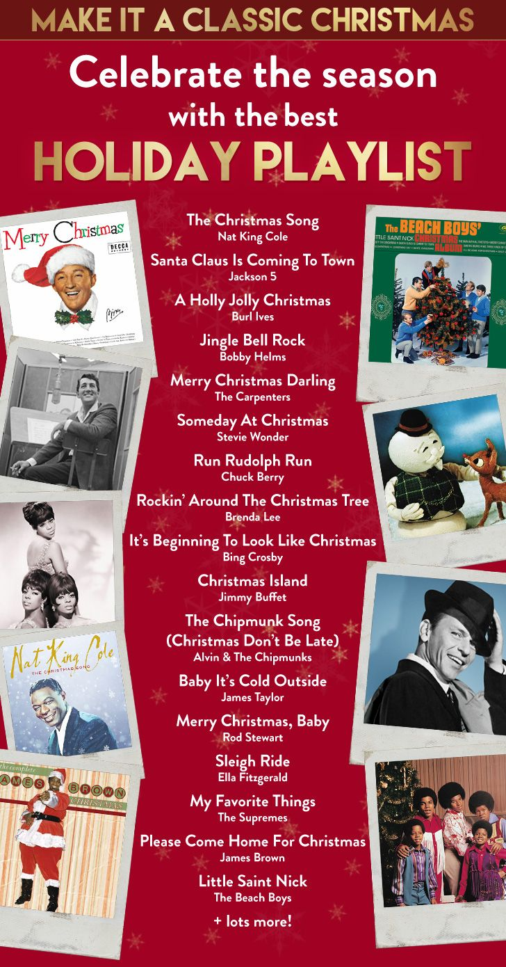 Make it a classic Christmas! Celebrate the season with the best holiday playlist…