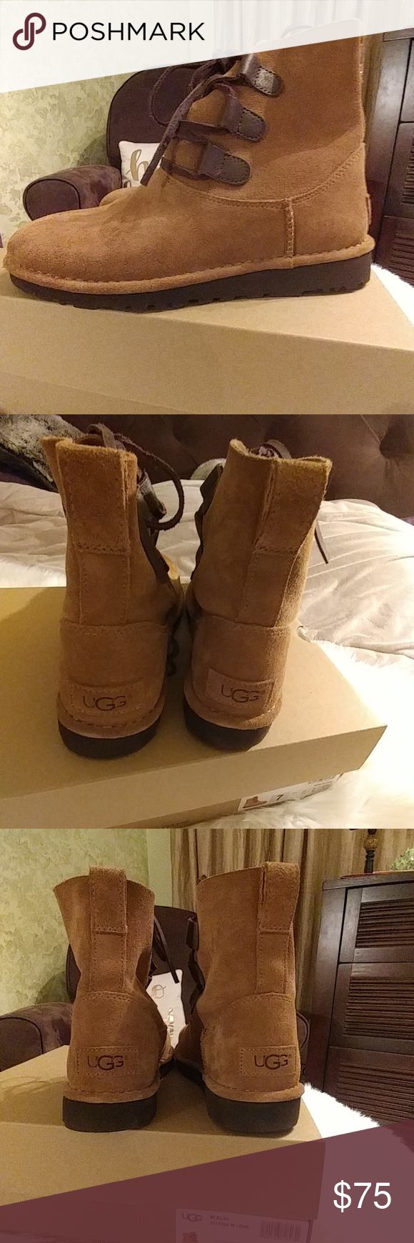 ec642498520 UGG Elvi Ankle Boots NWOT UGG Elvi Ankle Boots Color is Chestnut ...