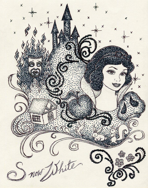 Iconic Snow White By Princesscarmilla On Deviantart Disney Kleurplaten Disney Sneeuwwitje
