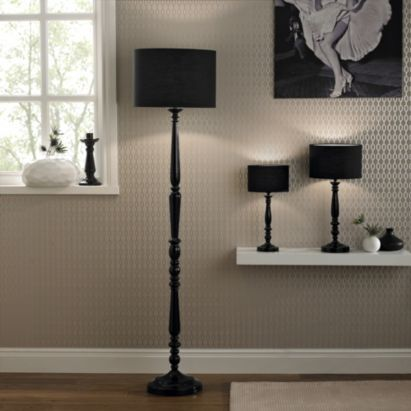 Angelina black spindlefabric shade floor lamp 0000005267347 angelina black spindlefabric shade floor lamp 0000005267347 mozeypictures Image collections