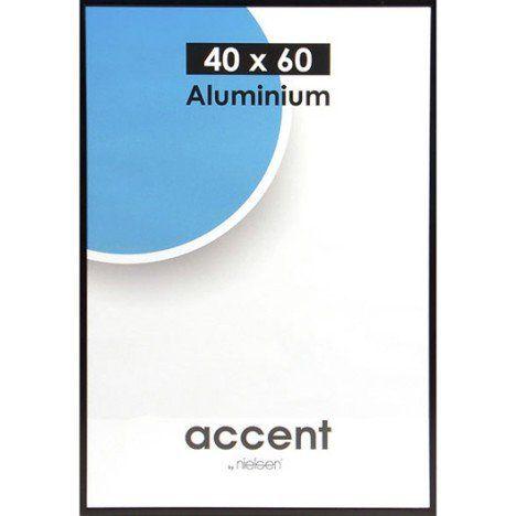 Cadre Accent, 40 x 60 cm, noir (Subrosa)