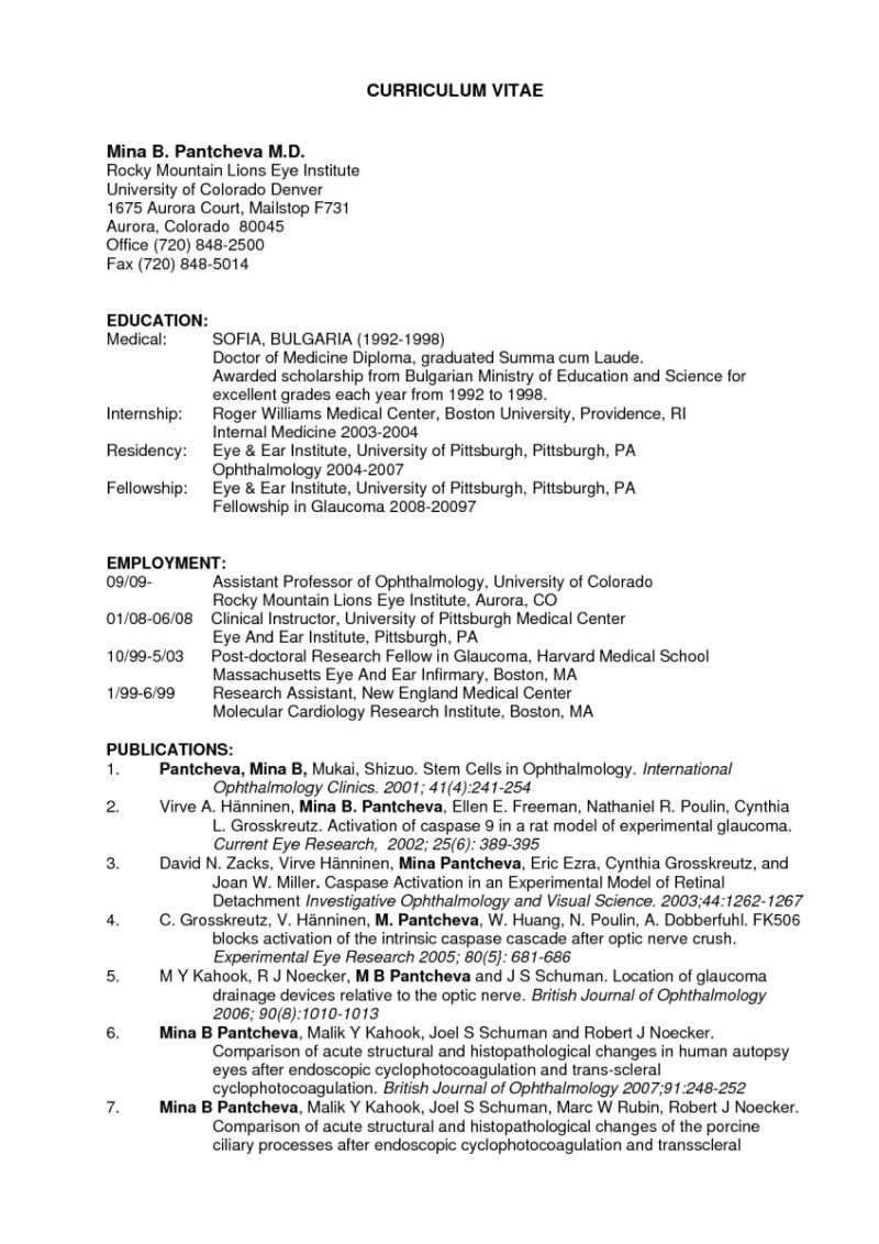 Resume Format Used In Usa Resume Templates Student Resume Template Curriculum Vitae Resume Examples