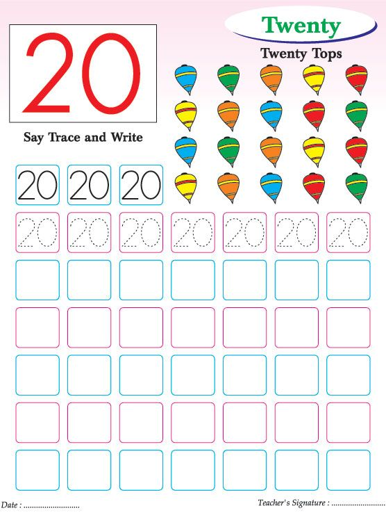 Numbers writing practice worksheet-20 Download Free Numbers - best of coloring pages with numbers for preschoolers