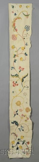 Crewelwork Panel | Sale Number 2397, Lot Number 388 | Skinner Auctioneers