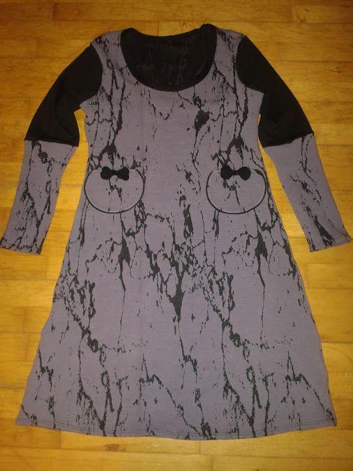 96b856c7 Varm jersey kjole homemade :) SuSanne Design | Kjoler jeg har lavet ...
