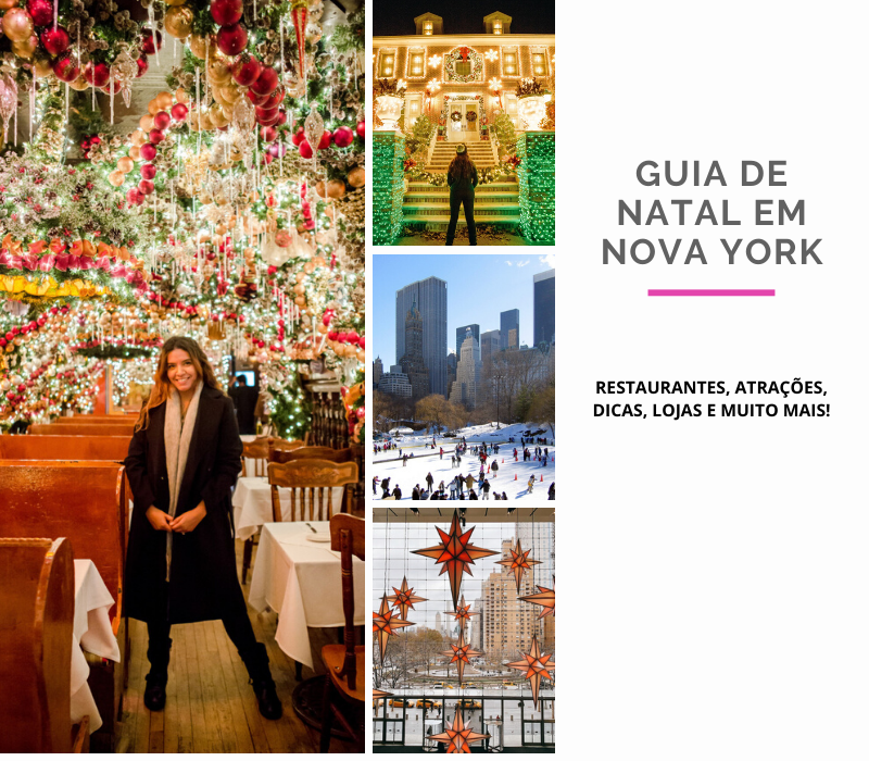 NATAL EM NOVA YORK: onde jantar na noite de natal em Nova York, atrações de natal em nova york, como comemorar o natal em nova york, como se vestir no inverno em nova york, dicas de nova york #novayork #natalemnovayork #christmasinnewyork