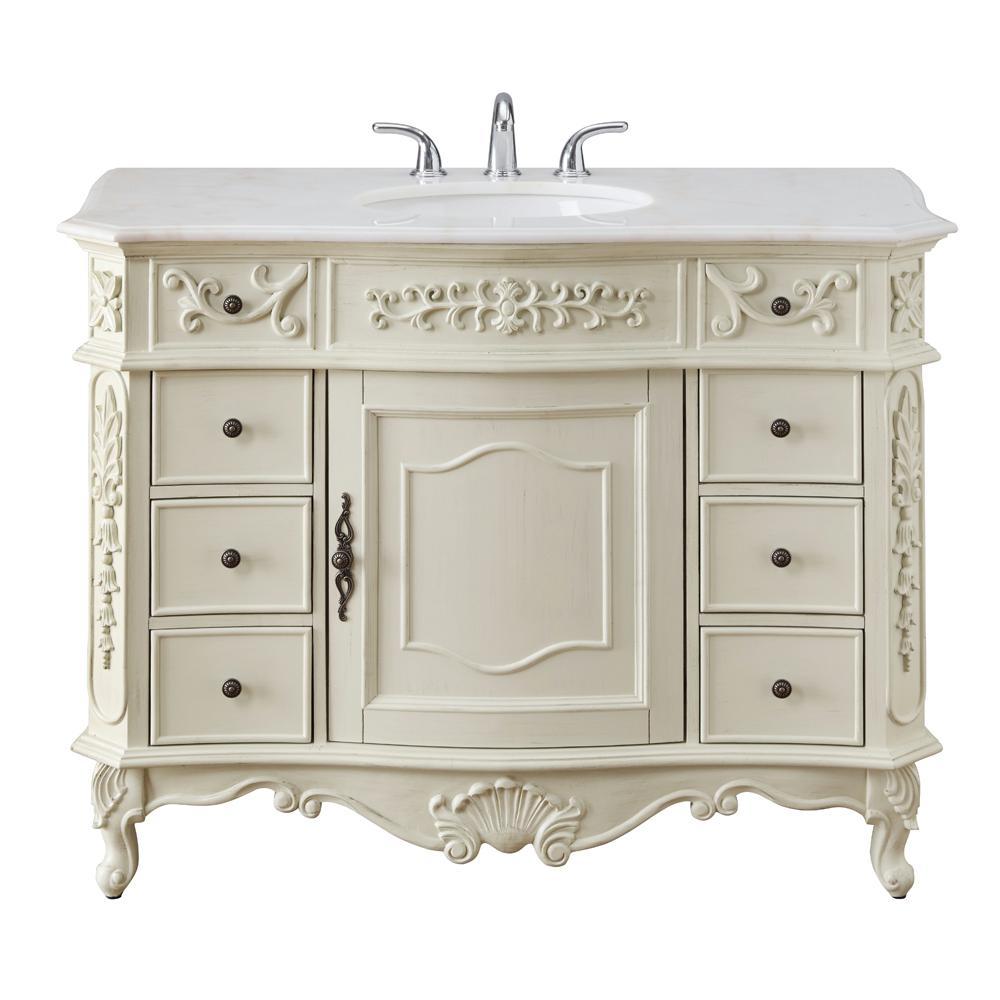 Home Decorators Collection Winslow 45 In W X 22 In D Bath Vanity