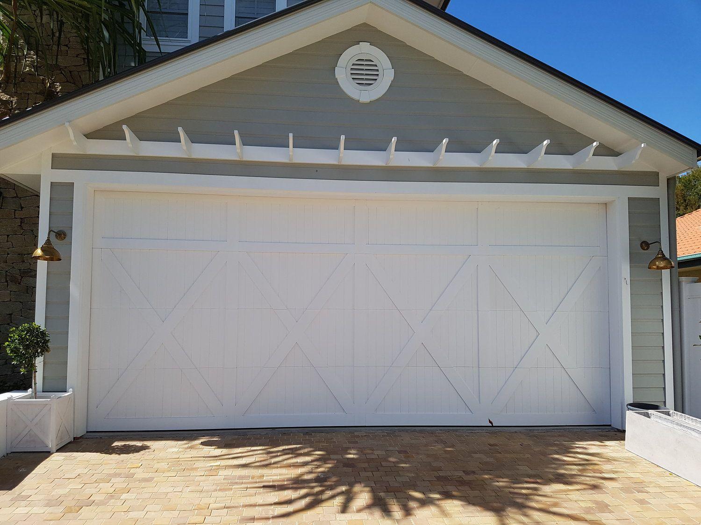 Hampton S Style Custom Garage Door Home Custom Garage