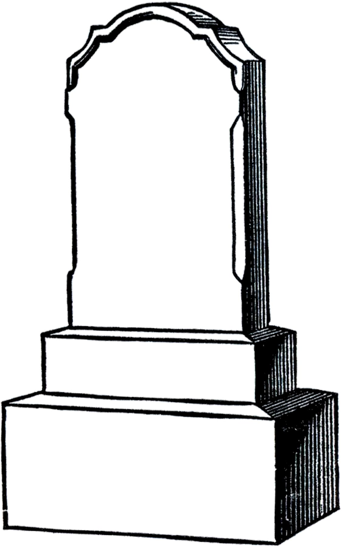 small resolution of free vintage gravestone clip art from the graphics fairy
