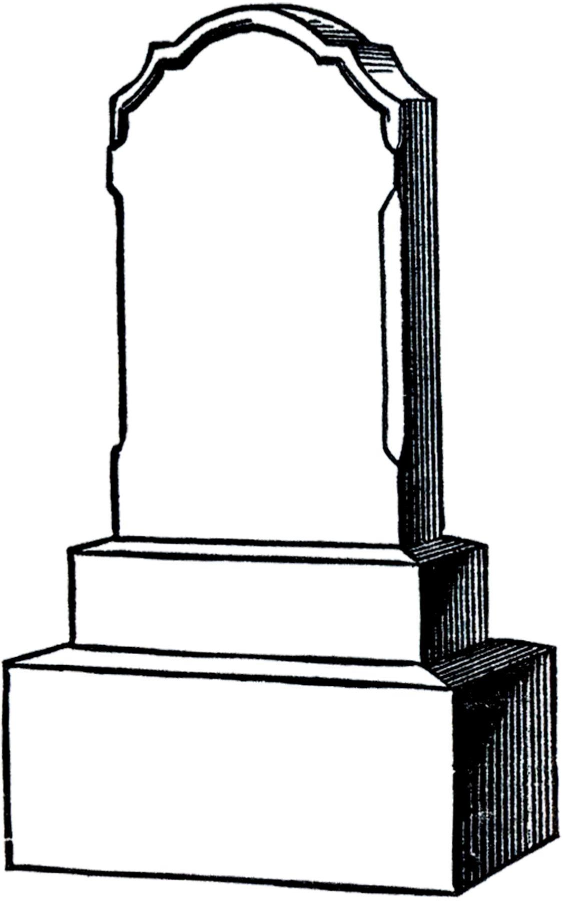 medium resolution of free vintage gravestone clip art from the graphics fairy