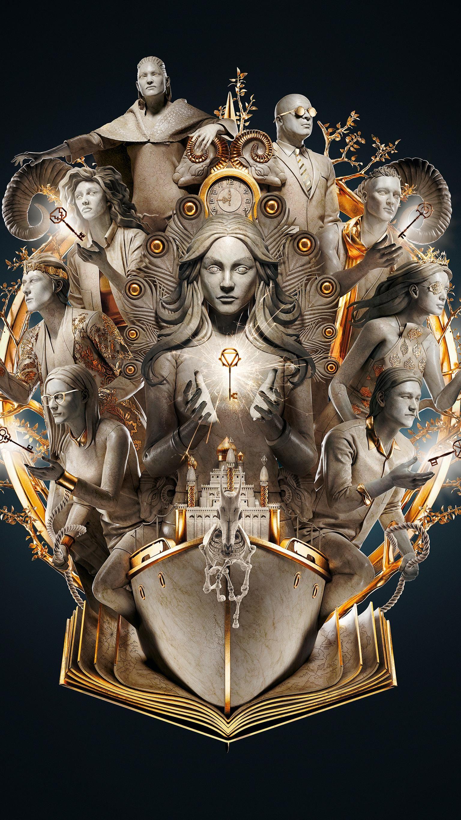 Moviemania Textless High Resolution Movie Wallpapers The Magicians The Magicians Syfy Magician Art