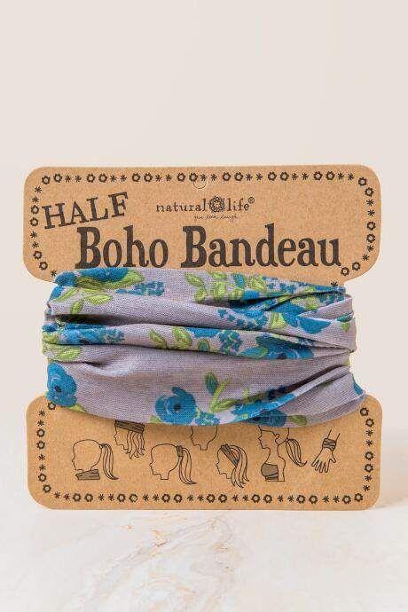 francesca s Boho Bandeau in Blue Blooms - Blue 62d4592316d