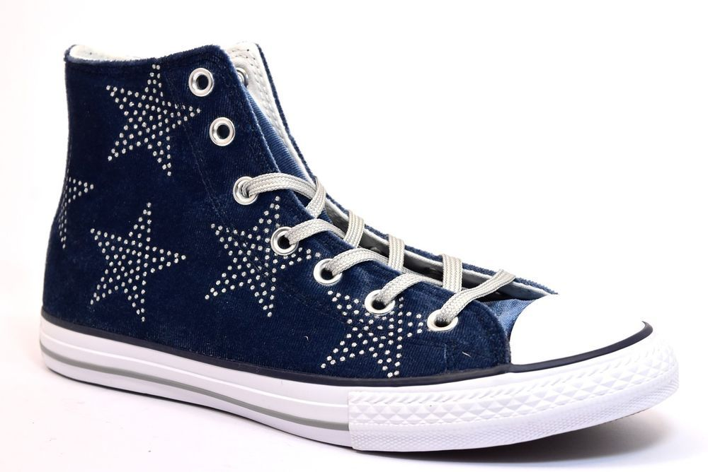 2converse all star glitter donna