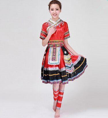 >> Click to Buy << chinese minority costumes for women national minority dance costumes the Miao nationality dance clothing dancer clothes #Affiliate