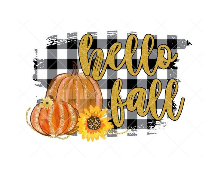 Hello Fall design, sublimation design, digital download, fall shirt design, fall png #hellofall