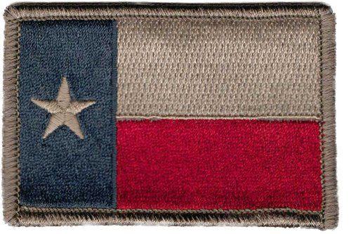 Kansas State Flag Patch W// VELCRO® Brand Tactical Morale Travel Emblem