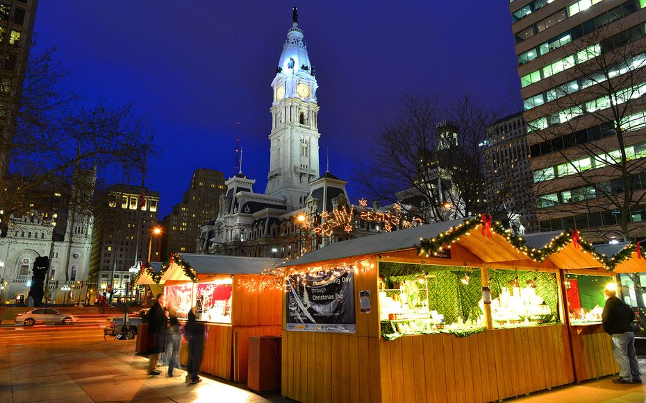 Philadelphia Christmas Market.America S Best Christmas Markets Places To Visit At