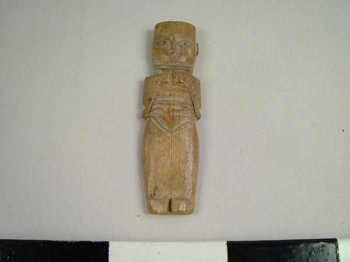 Artifact Figure Coptic Bone Doll 35904 Bone Carving Artifacts Museum Collection