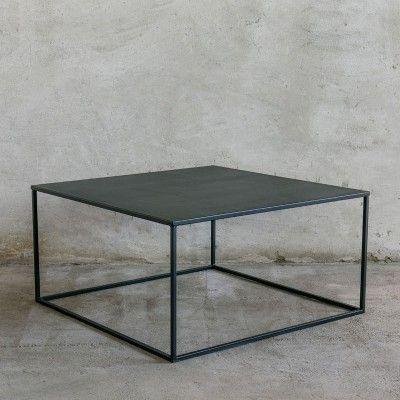 Simplex Couchtisch 80x80 Couchtisch 80x80 Couchtisch Metall Und